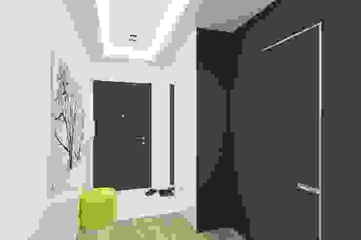 Проектик холостяка Коридор, прихожая и лестница в стиле минимализм от Ivantsov design studio Минимализм