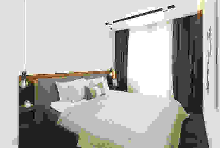 Проектик холостяка Спальня в стиле минимализм от Ivantsov design studio Минимализм