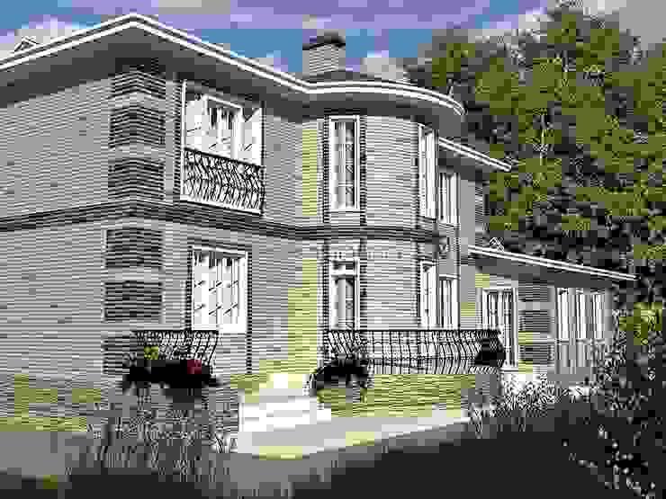 Classic style houses by Проектное бюро 'АДЕКО', г. Казань Classic Bricks