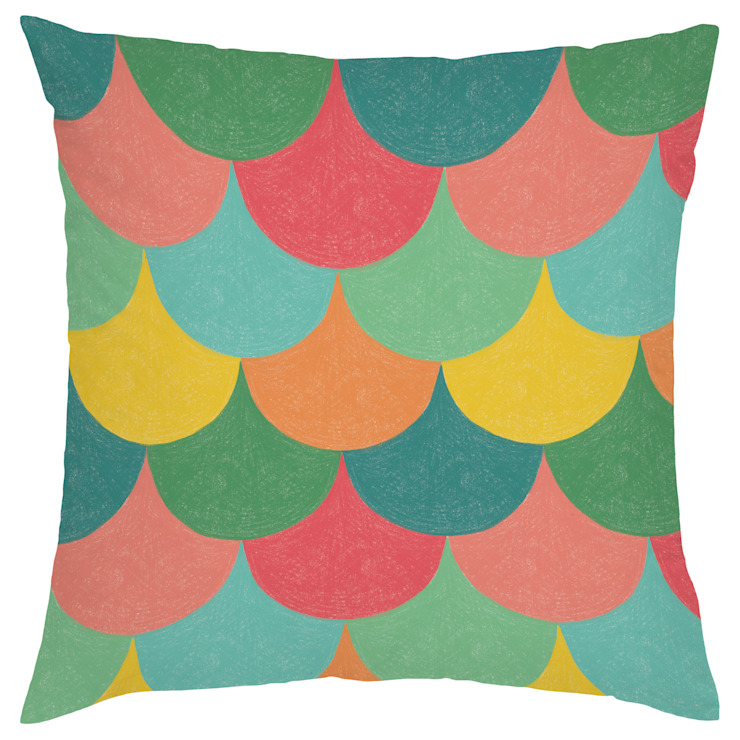 Ginkgo Cushion: SL design의 에클레틱 ,에클레틱 (Eclectic)