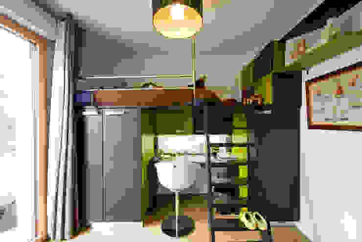 LA CUISINE DANS LE BAIN SK CONCEPT Nursery/kid's roomStorage Green