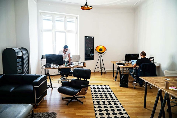 App & Online Marketing Agentur aus Berlin Studio Stern Moderne Arbeitszimmer
