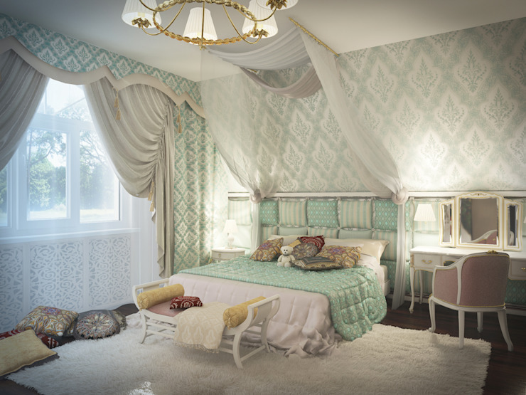 Eclectic style nursery/kids room by Artstyle Eclectic