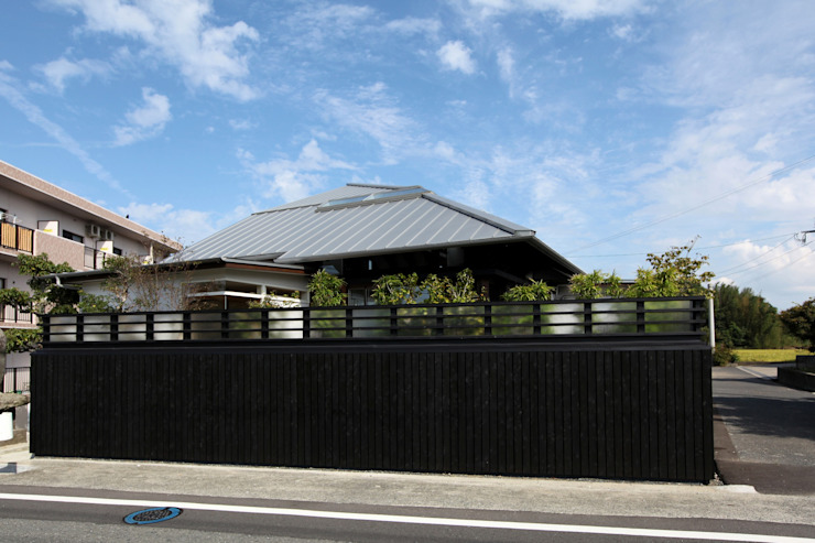 外観: フィールド建築設計舎が手掛けた家です。,オリジナル 木 木目調