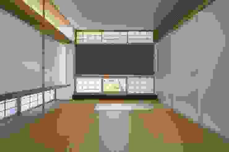 住戸棟 和室 クラシックデザインの 多目的室 の フィールド建築設計舎 クラシック 木 木目調