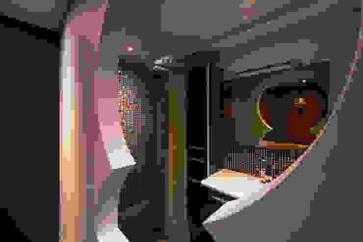 Oriental Guestroom Aziatische slaapkamers van Medie Interieurarchitectuur Aziatisch Keramiek
