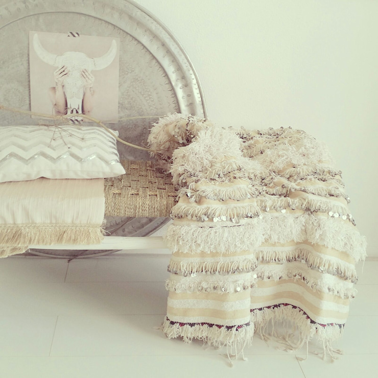 par House of Khmissa Scandinave Textile Ambre/Or