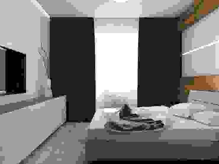 уютный минимализм Спальня в стиле минимализм от Pavel Alekseev Минимализм
