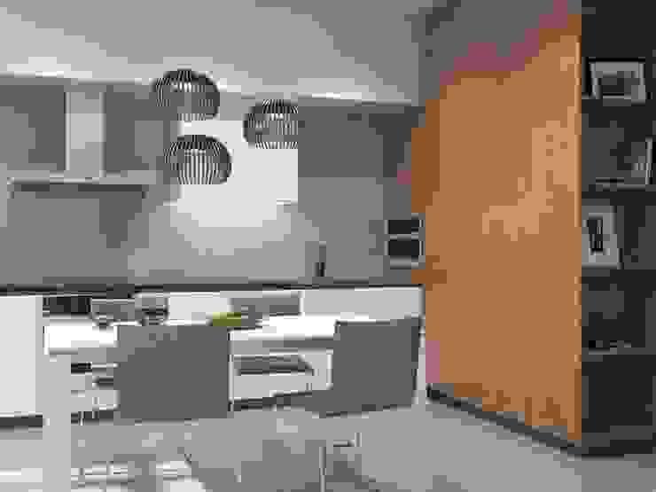 уютный минимализм Кухня в стиле минимализм от Pavel Alekseev Минимализм