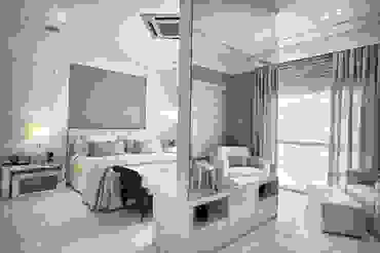 Bianka Mugnatto Design de Interiores Dormitorios de estilo ecléctico Fibra natural