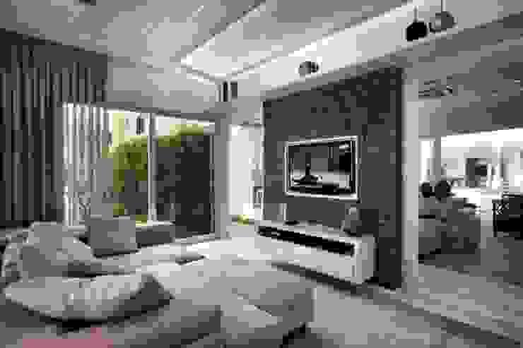 Bianka Mugnatto Design de Interiores Paredes y suelos de estilo ecléctico Piedra Verde