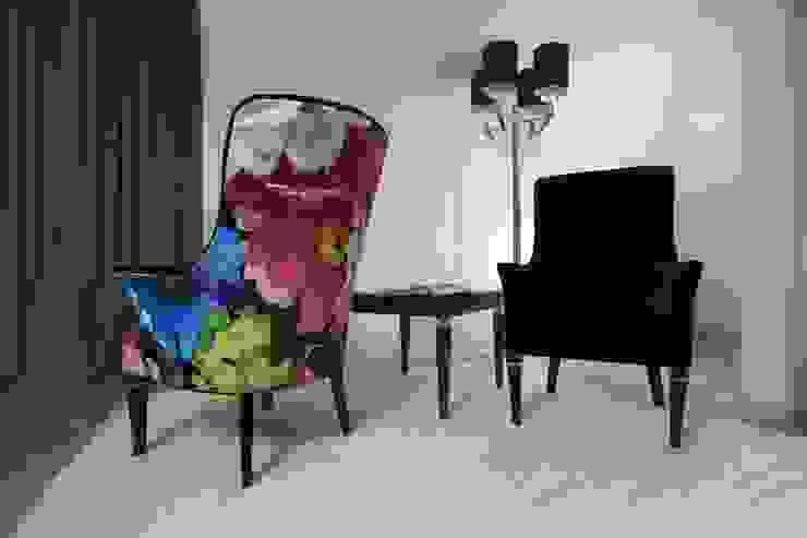 Sypialnia Nowoczesna sypialnia od Kossakowska design Nowoczesny