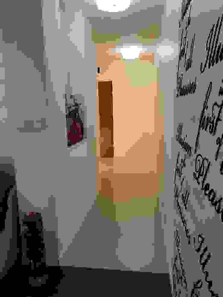 Hol Nowoczesne ściany i podłogi od Kossakowska design Nowoczesny