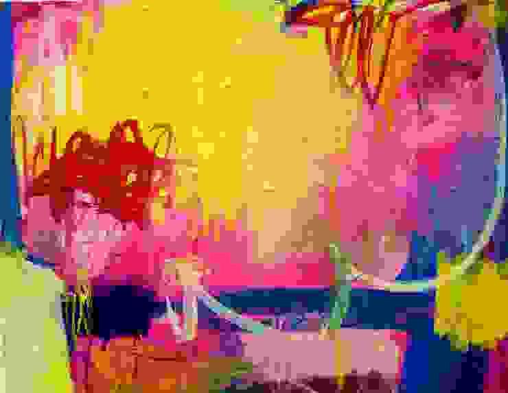 Abstract Paintings: Unforgettalbe Landscape: Kikuko Sakota Artが手掛けた現代のです。,モダン