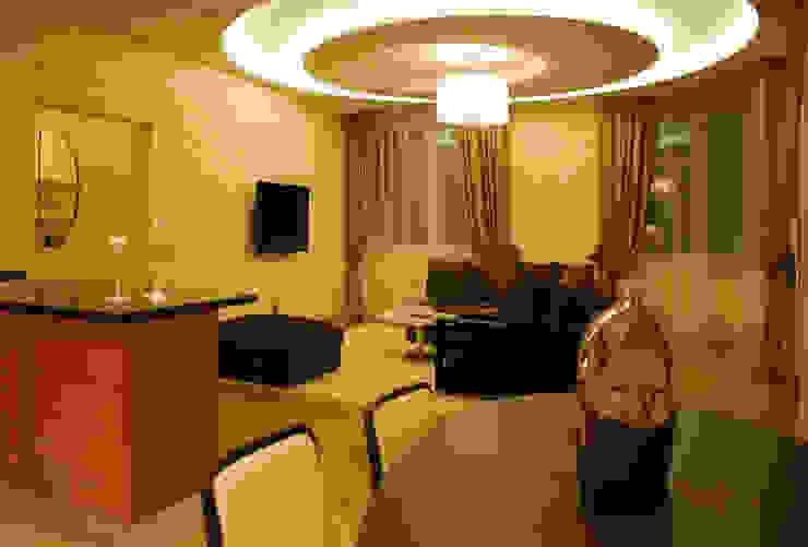 Квартира на Ружейном Гостиная в средиземноморском стиле от Дизайн-студия «ARTof3L» Средиземноморский