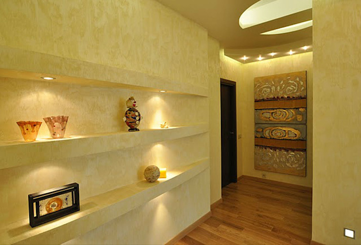 Квартира на Ружейном Коридор, прихожая и лестница в колониальном стиле от Дизайн-студия «ARTof3L» Колониальный