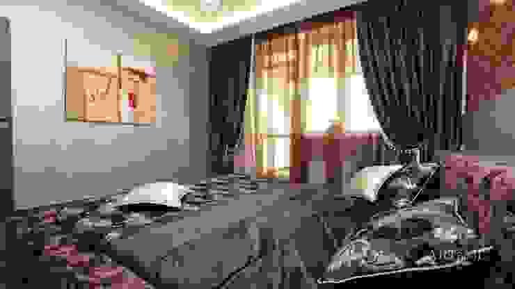 Квартира на Плющихе Спальня в стиле лофт от Дизайн-студия «ARTof3L» Лофт