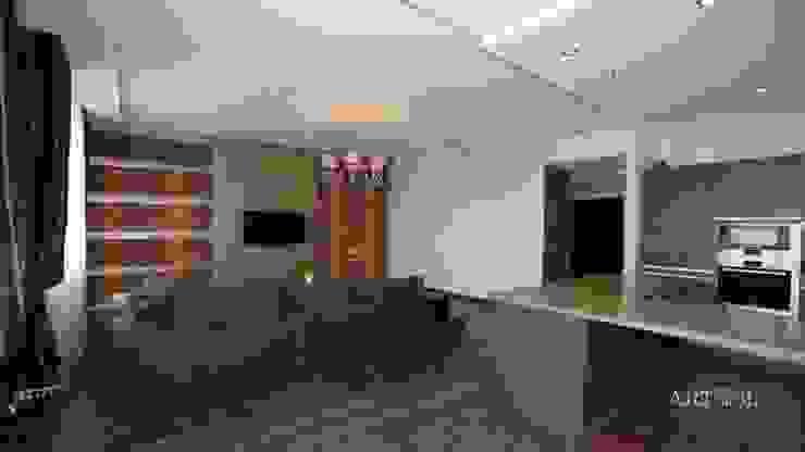 Квартира на Плющихе Гостиная в стиле лофт от Дизайн-студия «ARTof3L» Лофт