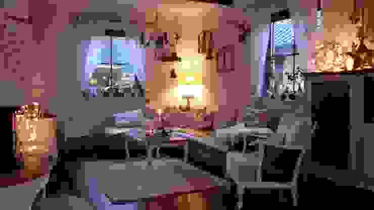 Antike Baustoffe Klassische Wohnzimmer von Antik-Stein Klassisch
