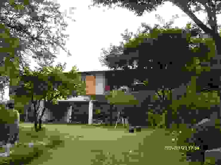 Modern Bahçe 팀버하우스 Modern