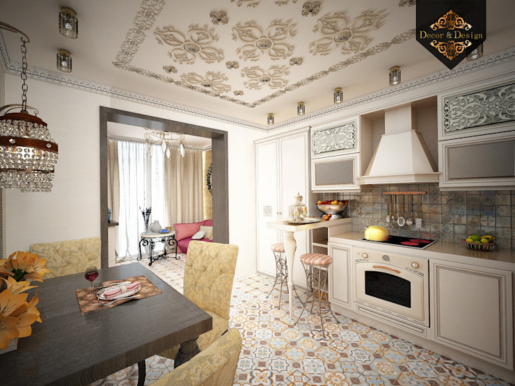 Cuisine coloniale par Decor&Design Colonial