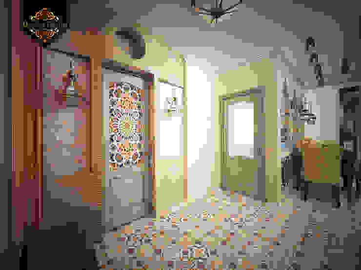 светский восток Коридор, прихожая и лестница в колониальном стиле от Decor&Design Колониальный