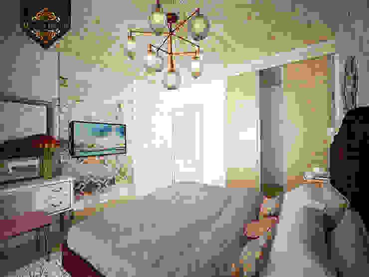 светский восток Спальня в колониальном стиле от Decor&Design Колониальный