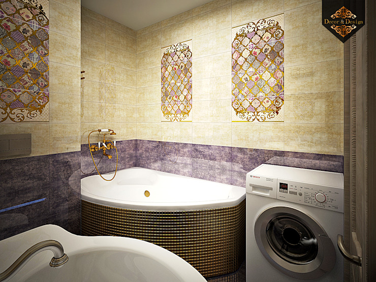 светский восток Ванная в колониальном стиле от Decor&Design Колониальный