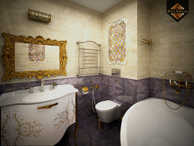 Colonial style bathroom by Decor&Design Colonial
