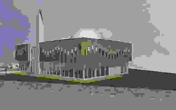 Mevlana Mosque, Zevenaar Mediterrane exhibitieruimten van Arzu Senel Architecture Mediterraan