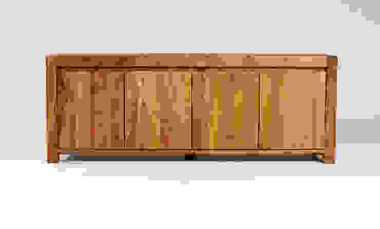 MAZZIVO commode 4.2 - solid cherry wood Nowoczesny salon od mazzivo konzept + gestaltung przemysław mitręga Nowoczesny Drewno O efekcie drewna