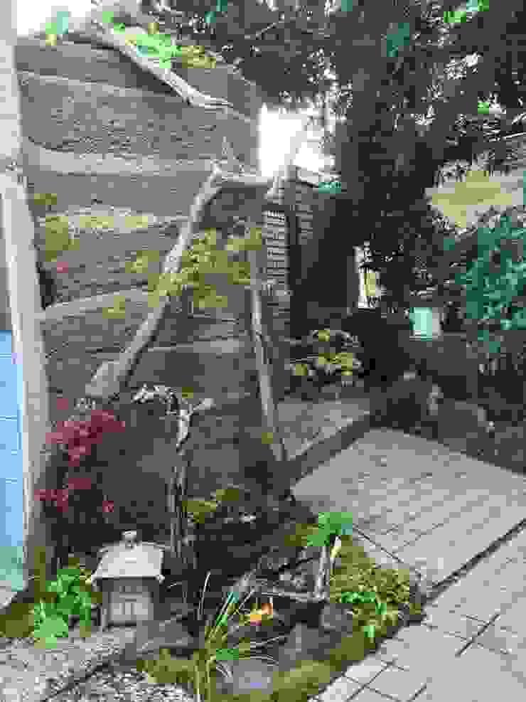 版築土塀+溜り 株式会社 髙橋造園土木 Takahashi Landscape Construction.Co.,Ltd
