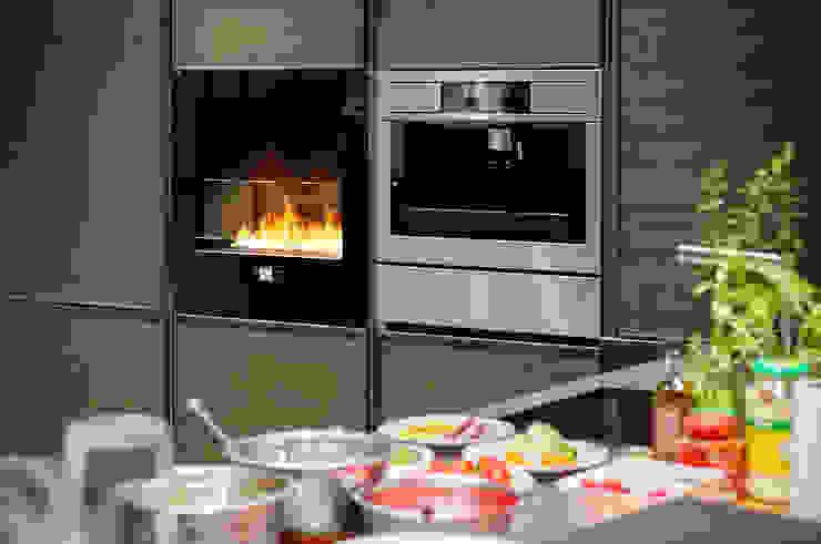 Chili Fire, Good Mood Showroom- Warsaw od Planika Fires Nowoczesny