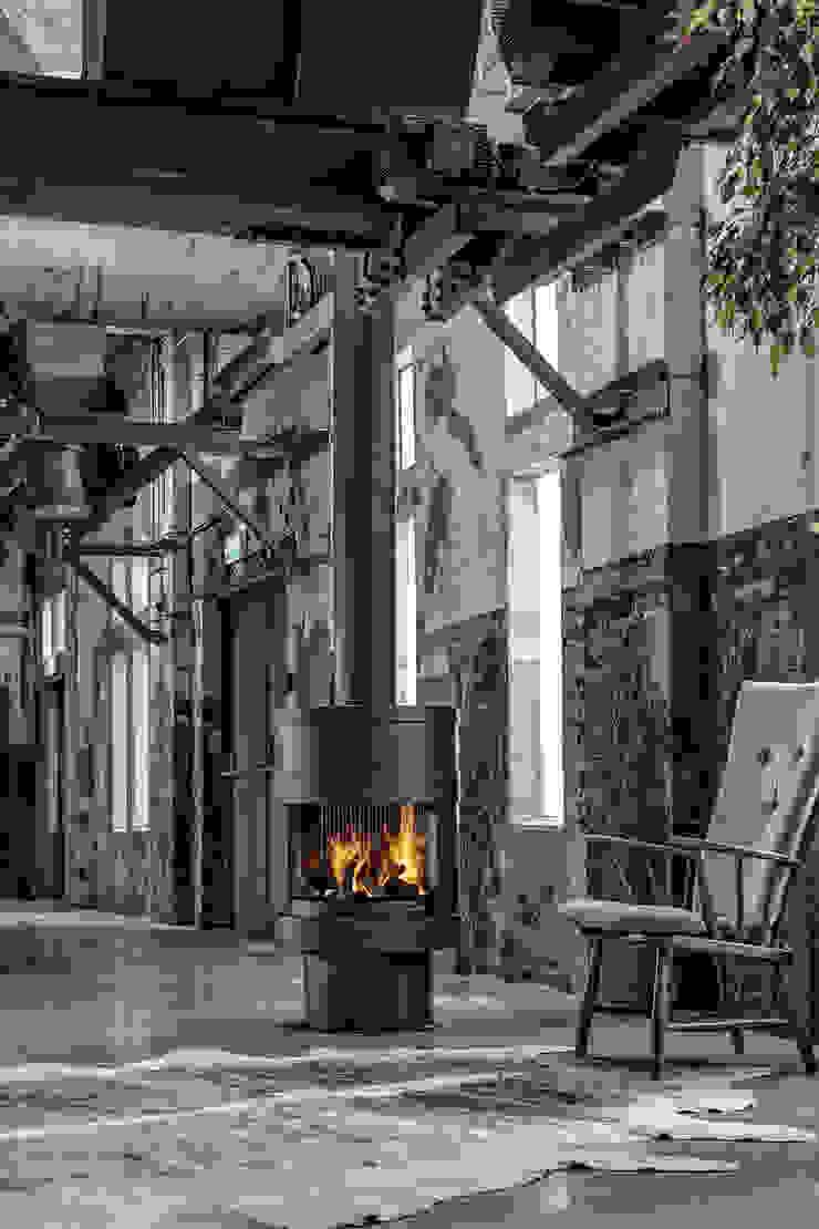 Boley Living roomFireplaces & accessories Metal Black