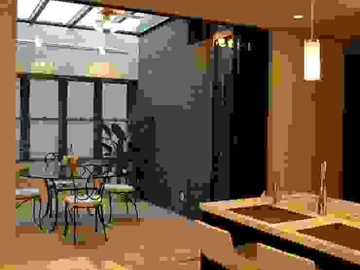 N邸 クラシックデザインの テラス の 一級建築士事務所 (有)BOFアーキテクツ クラシック