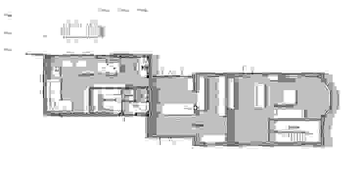 Plattegrond: modern  door TS architecten BV, Modern