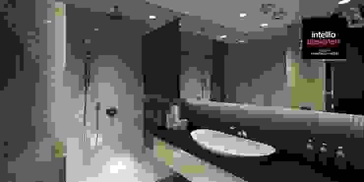 Łazienka aranżacja od Intellio designers