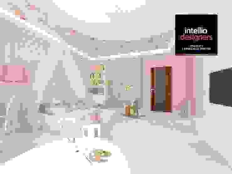 Projekt pokoju dziewczynki od Intellio designers
