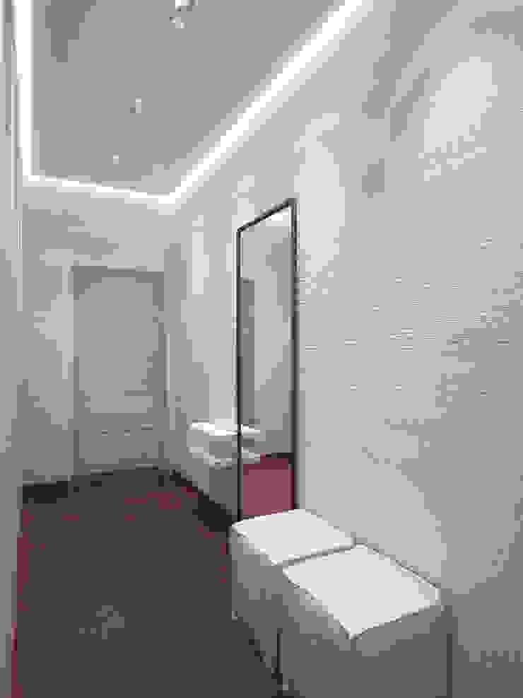 Японский минимализм Коридор, прихожая и лестница в стиле минимализм от BIARTI - создаем минималистский дизайн интерьеров Минимализм
