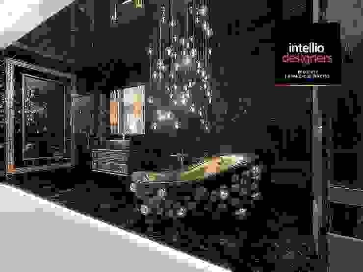 Awangardowa łazienka - Galeria wnętrz od Intellio designers