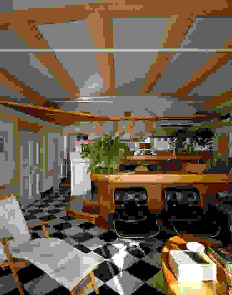 VITTORIO GARATTI ARCHITETTO Modern living room