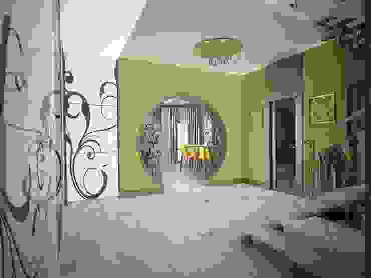 молодежный интерьер Коридор, прихожая и лестница в эклектичном стиле от Decor&Design Эклектичный