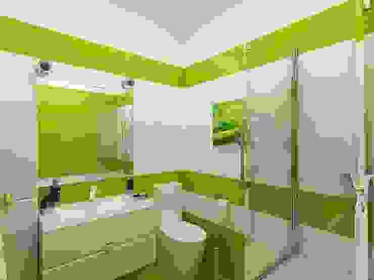 санузел Ванная комната в стиле минимализм от Дизайн студия Марины Геба Минимализм