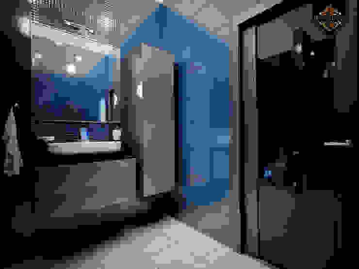 молодежный интерьер Ванная комната в эклектичном стиле от Decor&Design Эклектичный