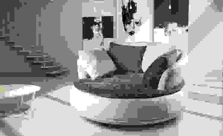 von Italian Style Klassisch Leder Grau