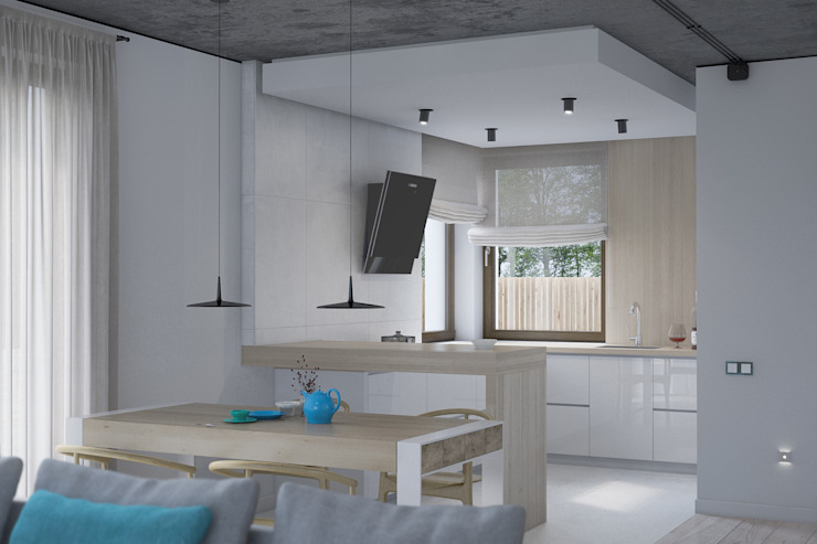 Modern kitchen by Kunkiewicz Architekci Modern