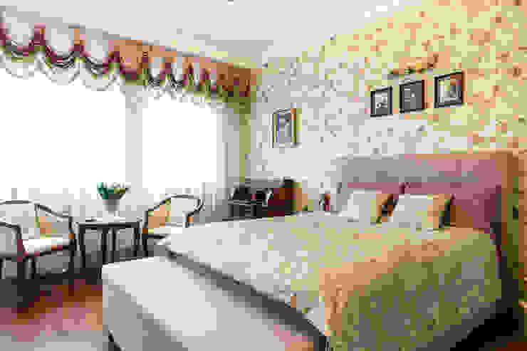 Dormitorios de estilo clásico de Gzowska&Ossowska Pracownie Architektury Wnętrz Clásico