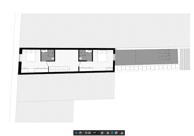 HOUSE NM_PÓVOA DE VARZIM_2015 Casas minimalistas por PFS-arquitectura Minimalista