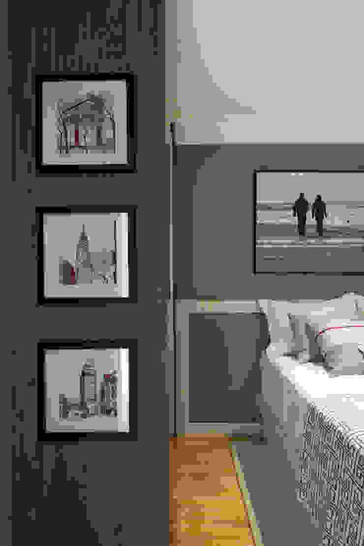 Ipiranga | Decorados Quartos modernos por SESSO & DALANEZI Moderno