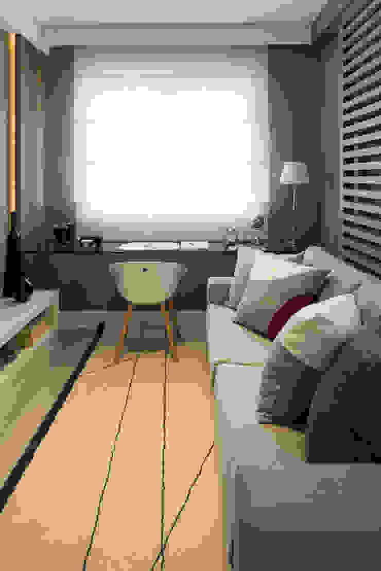 Ipiranga | Decorados Salas multimídia modernas por SESSO & DALANEZI Moderno
